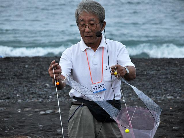 東海大学海洋学部で弁をふるっていた岸本浩和先生