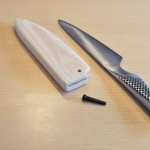 【DIY】キャンプ用にグローバル 包丁の鞘を自作・作り方