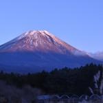 父娘ふたり富士山見ながら極寒・冬キャンプ 富士ヶ嶺・おいしいキャンプ場