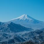 雪の低山日帰り縦走 秀麗富嶽十二景・高川山