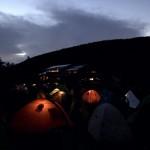 晩夏、テント泊で北八ヶ岳 天狗岳・ニュウ Day 2
