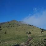 初冬、長野・群馬県境への山旅Day 2: 四阿山・根子岳・小根子岳 周回